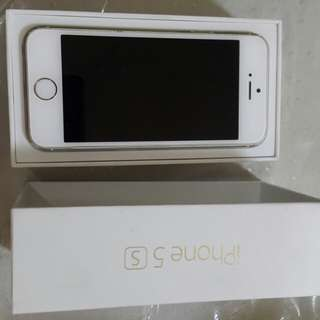 Defected iPhone 5s Gold 16Gb