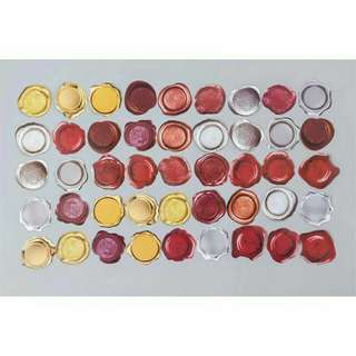 (PO) 45PCS WAX SEALING STICKERA