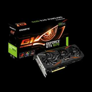 Gigabyte Gtx 1070 Windforce OC G1 Gaming