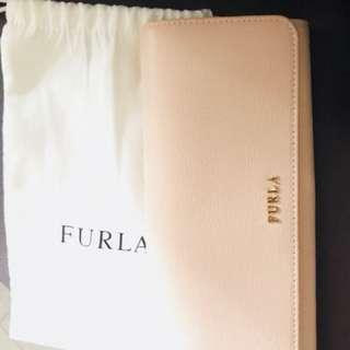 FURLA Pink Wallet (FURLA名牌粉紅色錢包)