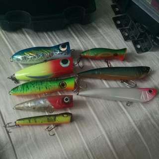 Lures (Poppers)