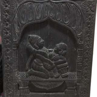 Kamasutra Solid Wood Artpiece