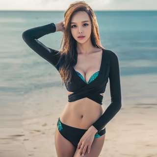 2 pcs bikini set korean style swimsuit swimwear without outer