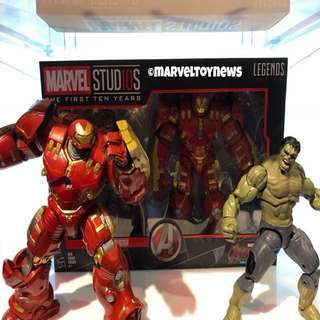 Preorder PO-Marvel Legends Studio The First Ten Years Hulk and Hulkbuster Pack