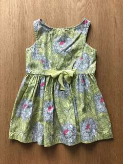 Gingersnaps Tiny Summer Floral Dress (6-9 Mos)