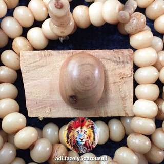 (Sold) Permata Kayu Cypress (20 cents size)