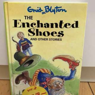 英文小說-The Enchanted Shoes