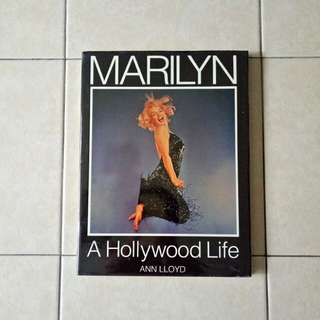 Marilyn a holly wood life page 118 condition 8/10