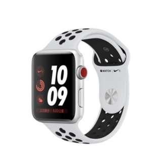 徵求 Apple I Watch series 3 Nike gps + cellular 42mm
