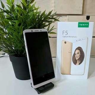 Oppo F5 Promo Bunga 0.99% Dp 800rb