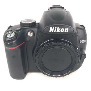 Nikon D5000 (12MP) DSLR Body (Used) [SN: ***4829]