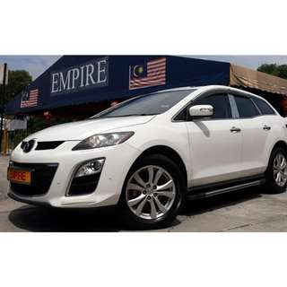 MAZDA CX-7 2.3 ( A ) TURBO !! FULL SPECS COMES WITH BOSE SOUND SYSTEM SUNROOF AND SMART ENTRY !! ( WXX 517 ) 1 CAREFUL OWNER !!
