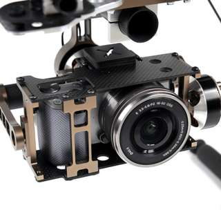 X-CAM X140B for NEX5 Series 2Axis Brushless Gimbal System