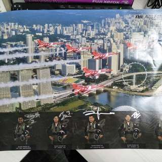 2015 Jubilee Black Knight (Signed) Poster