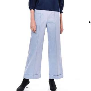 TEM gathered waist denim pants
