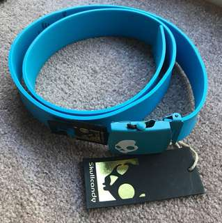 Skull candy Belt Blue