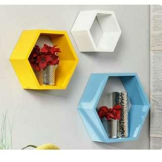 Rak hexagonal 1 SET