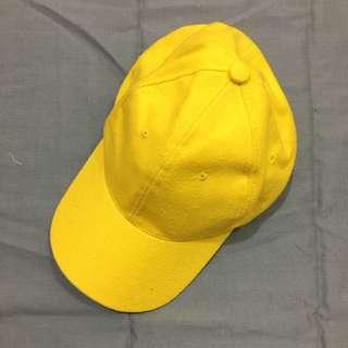 (New) Yellow Cap - topi kuning baru
