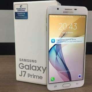 Best seller Samsung Galaxy J7 prime promo bunga 0.99%