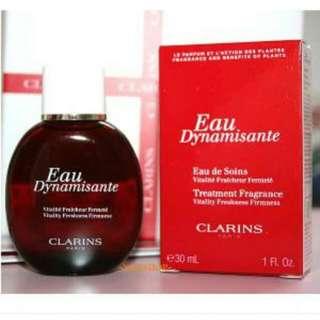Clarins Eau Dynamisante Treatment Fragrance Vitality Freshness Firmness 30ml
