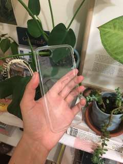 CLEAR IPHONE 7/8 CASE