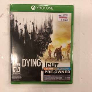 XBOX ONE 2ND DYING LIGHT
