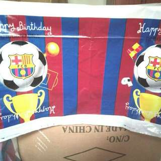 $6.90 FCB Barcelona Birthday Party Table Cover Disposable