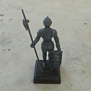 Miniature Medieval Knight Suit of Armor