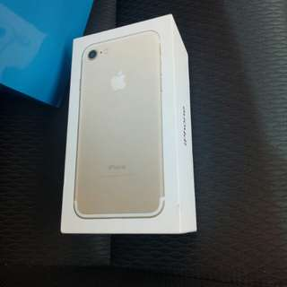 Apple Iphone 7 32Gb Gold New Apple Malaysia Set