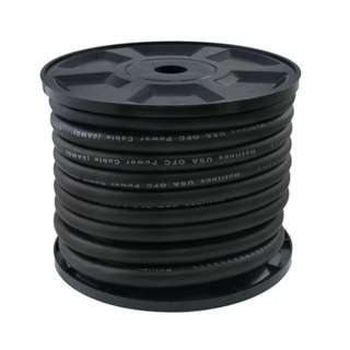 Power Cable 0AWG Black 20M