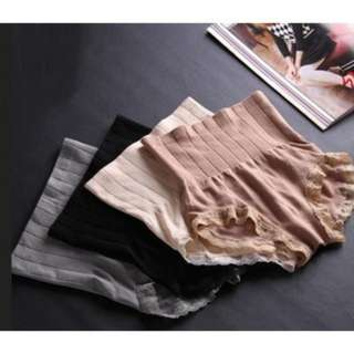 [PO55]2pcs Munafie High Waist Slimming Panties Shaper Underwear