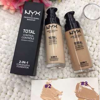 2 IN 1 CONCEALER & FOUNDATION