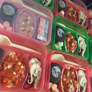 Bento party trays