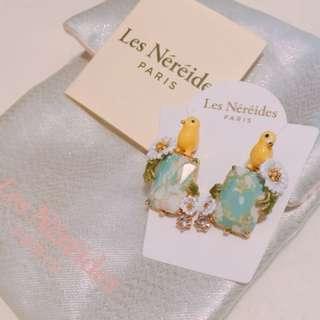 Les Nereides Paris - Birdies Earrings (全新 brand new)