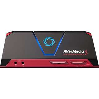 AVerMedia Live Gamer Portable 2, Full HD 1080p60 Recording Without PC Directly to SD Card, Ultra Low Latency, H.264 Hardware Encoding, USB Game Capture, Record, Stream, Plug & Play, Party Chat, XBOX, Playstation, Nintendo Switch (GC510) -- 620