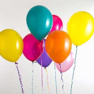 50 x 11 Inch Helium Balloon with Delivery