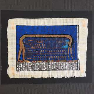 Authentic Hand-painting Egyptian Parchment