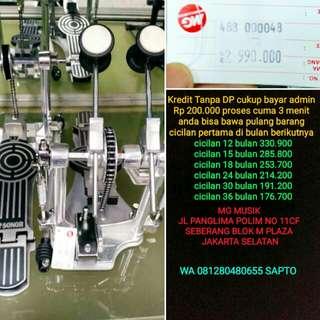 Double pedal Sonor bisa cicil tanpa dp