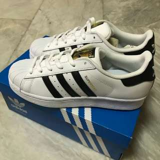 Adidas Superstar shoes bnew and original