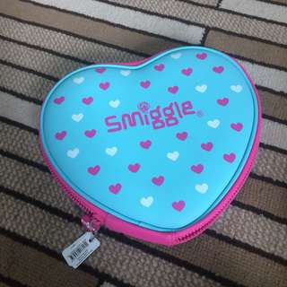 Love Shaped Smiggle Pencil Case
