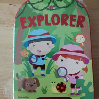 BNIP Explorer, illustrated by Sarah ward