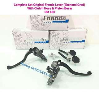 Complete Set Original Frando Masterpump with Clutch Hose & Piston