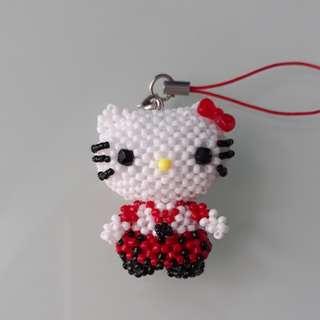 Hello Kitty Student Beads figure