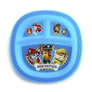 [BN] Munchkin Paw Patrol Plate, Blue (Marshall / Chase / Rubble)