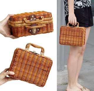 Bamboo handbag