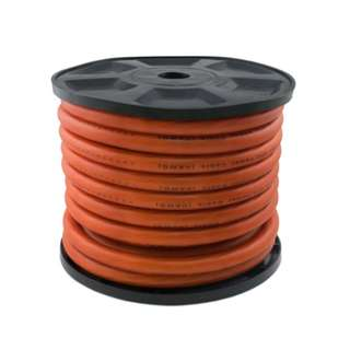 Matt Transparent Orange Power Cable 0AWG 20M