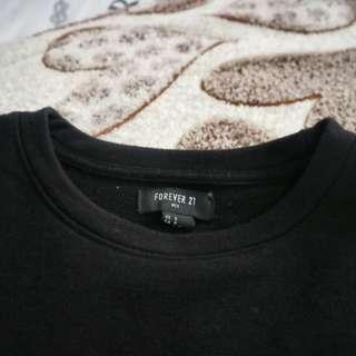 F21 Neoprene Sweatshirt