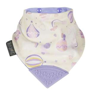 Cheeky Chompers Neckerchew Baby Bib- Over the Rainbow