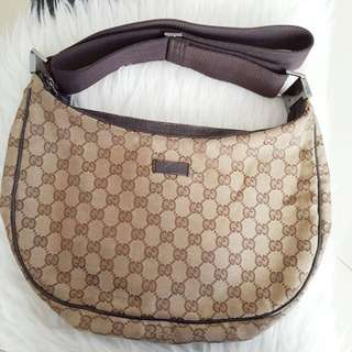 GUCCI CANVAS MONOGRAM SLING