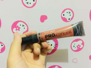 LA girl pro conceal shade orange ( corector ) & Beautiful bronze ( contour )